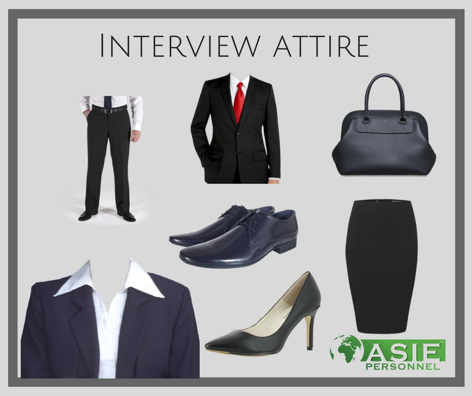 Interview Dress Code Asie Personnel