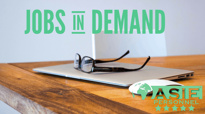 In Demand Jobs